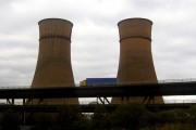 Tinsley viaduct and its twin towers