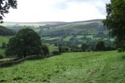Verdant countryside.