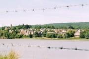Newnham through the wire