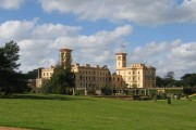 Osborne House from the south east in mid October