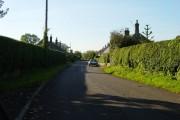 Road through Guyzance