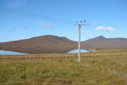 Loch Ruathair, seen from the A897