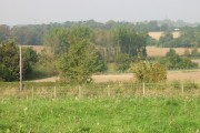 View across the fields, Hay Hill