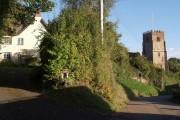 Chappel Court and church, Kenn