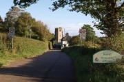 Entrance to Kenn village
