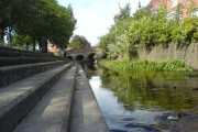 Bulwell Bogs View of Bridge to train station