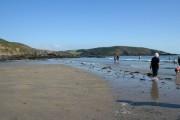 Wembury Beach at low tide