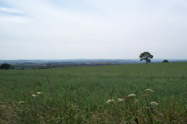 A View over Barnsley from Clayton