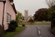St. John the Baptist; the parish church of Campsea Ashe