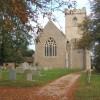 Barham Church, autumnal view