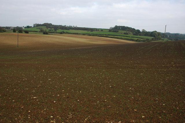 Farmland near Blacklains Farm, Birdlip