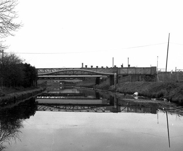 Approaching Waters Meeting, Bridgewater Canal
