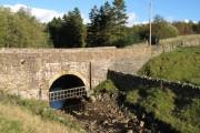 Bridge over the Ayle Burn