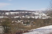 Glasbury-on-Wye in the snow