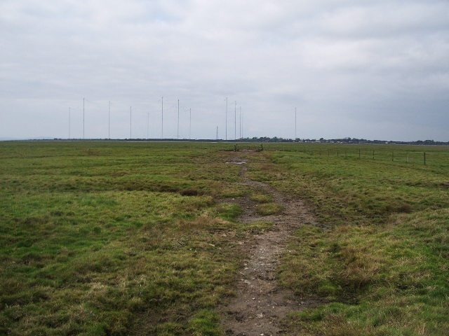 Track/footpath to Newton Marsh