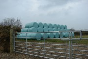 New colour silage sacks