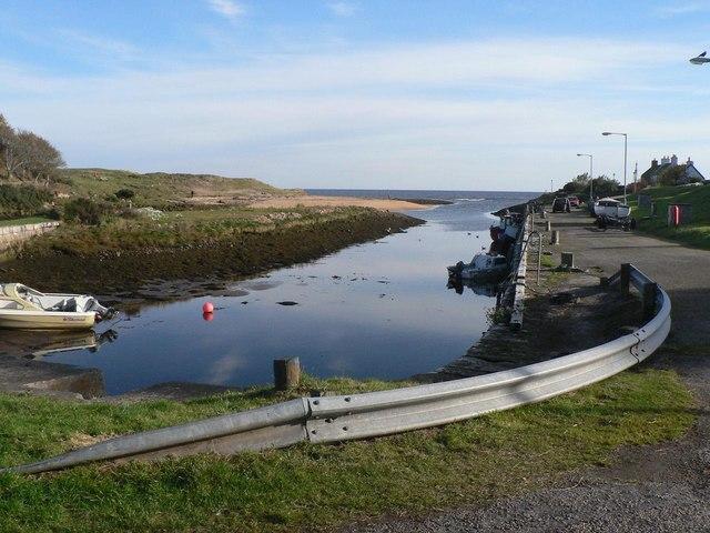 Brora: the harbour