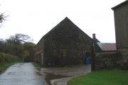 Old farm buildings at Brendon