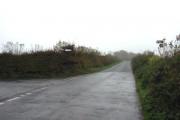 Road junction at Staddon