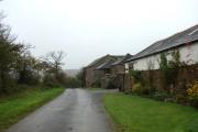 Farm buildings near Hollacombe