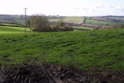 Field by the A386