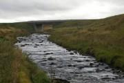 View along River Dell, near Dell Mill