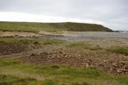 View from North Dell beach / Sealladh bho Thràigh Dhail