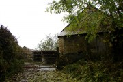 Old farm buildings at Milton Damerel