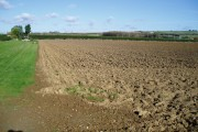 Ploughed field, Roundstone Farm