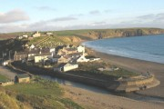 Aberdaron from the west