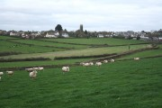High Bickington: towards the village