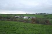 High Bickington: towards Vauterhill Stud