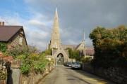 Canol Pentref Llandwrog Village Centre