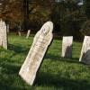 Gravestones, St Giles on the Heath church