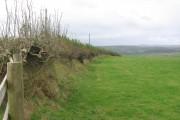 Farmland west of Warkleigh