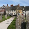 Ottery St Mary: houses in Cornhill