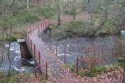 Bridge over Mouse Water near Jerviswood