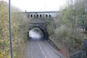 Bridge over Steel Works Road - Ebbw Vale