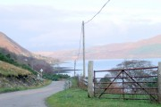 West side of Loch Broom, looking towards Letters