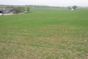 View across the fields near Malmains Farm