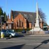 War memorial and Methodist Church
