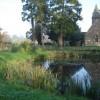 Putley Church in autumn
