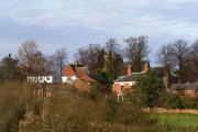 Birstall Village & Church from riverside path