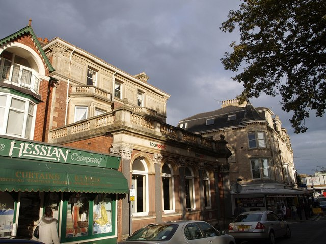 Former bank, Palace Avenue, Paignton