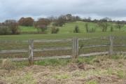 Crop field between Newent and Upleadon