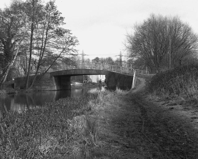 Black Boy Bridge, Wey Navigation, Surrey