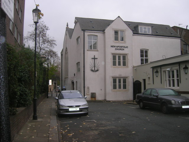 New Apostolic Church off Warwick Road, London W14