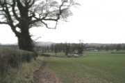 Towards Condover from 'The Old Brickyard' (Dec' 2007)