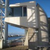 Footbridge control room at the Lowry