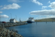 Toft Pier, Shetland